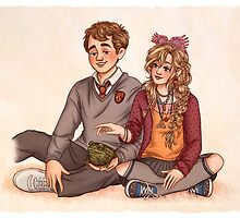 Neville and Luna by susannesart