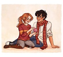 Harry and Ginny Photographic Print