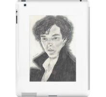 Sherlock as portrayed by Benedict Cumberbatch iPad Case/Skin