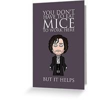 Dark Jonathan Strange (card/notebook/pillow/bag) Greeting Card