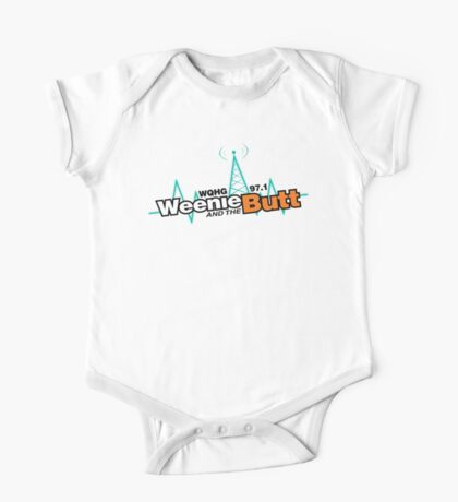 Weenie And The Butt One Piece - Short Sleeve