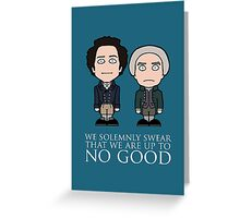 Strange and Norrell (card/notebook/pillow/bag) Greeting Card