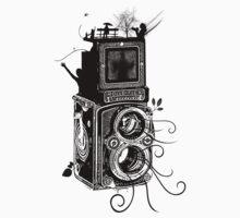 Retro Rolleiflex - Evolution of Photography - Vintage