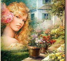 in the garden by miras46