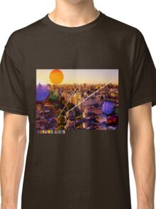 Buenos Aires Colorful Cityscape Classic T-Shirt