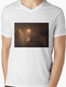 Chisel Dipped Mens V-Neck T-Shirt