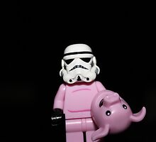 Piggy Stormtrooper by Kirk Arts