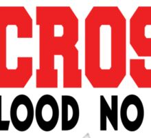 "Lacrosse ""No Blood No Foul"" Sticker"