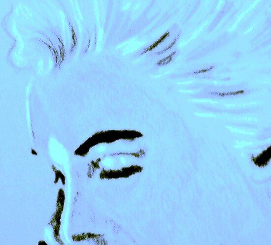 Marilyn Monroe portrait by patjila