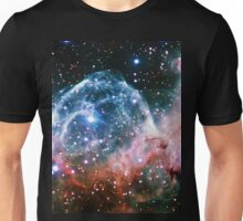 Thor's Helmet Nebula [Red and Blue] Unisex T-Shirt