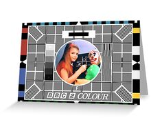 Testcard F Greeting Card