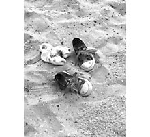 Shoes on the Sand  Photographic Print