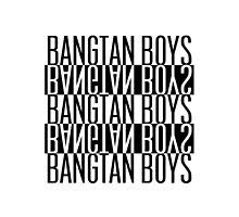 BTS/Bangtan Boys B&W by PaolaAzeneth