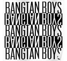 BTS/Bangtan Boys B&W Poster