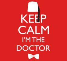 Keep Calm I'm The Doctor Kids Tee