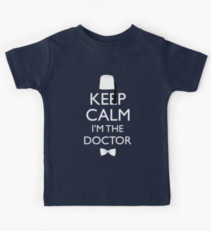 Keep Calm I'm The Doctor Kids Tee