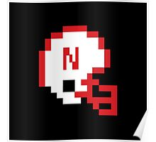 Nebraska Helmet T-shirt Poster