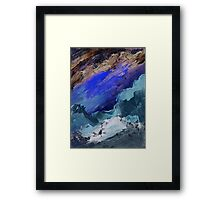 Ski Slope Framed Print