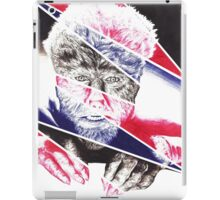 The Wolfman, a ball point pen portrait. iPad Case/Skin