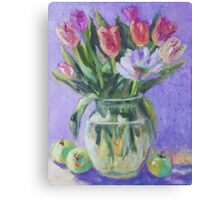 Springtime Tulips Canvas Print
