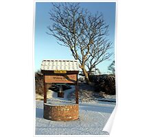 Tree by The Olde Wishing Well - Skegness Poster