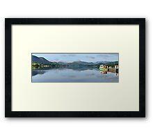 Pooley Bridge Jetty, Ullswater Framed Print