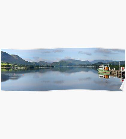 Pooley Bridge Jetty, Ullswater Poster
