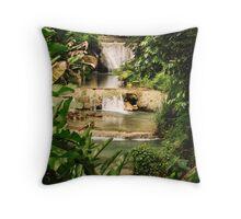 @ Cascade Falls in Vanuatu Throw Pillow