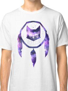 Galaxy Cat Dream Catcher Classic T-Shirt