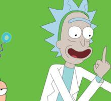 Rick and Morty: Peace Among Worlds Sticker