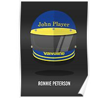 Ronnie Peterson's Helmet Poster