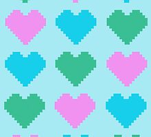 Pixel Heart V.2 by Tigercookie