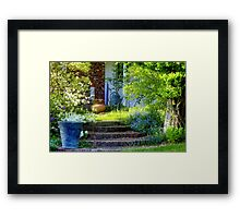 Welcome to Springtime in New England Framed Print