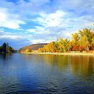 Bitterroot River in late October by amontanaview