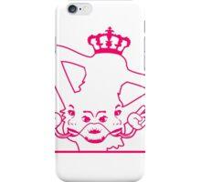 female breasts bosom hot horny girl crown joint faces iPhone Case/Skin