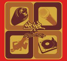 4 Elements of Hip Hop Baby Tee