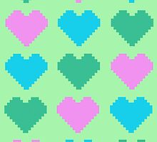 Pixel Heart V.3 by Tigercookie