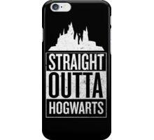 Straight Outta Hogwarts V2 iPhone Case/Skin