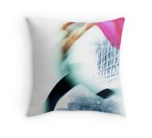 escape from the masses Throw Pillow
