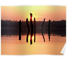 Carsington Sunset Poster