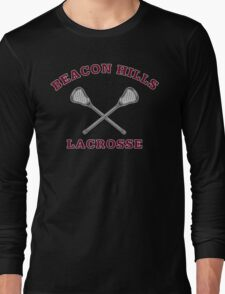 Beacon Hills Lacrosse Stilinski 24 Long Sleeve T-Shirt
