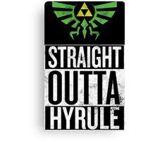 Straight Outta Hyrule V3 Canvas Print