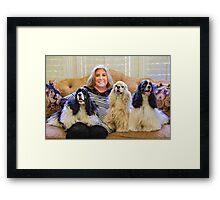 """""""Sharon's Crew"""" Framed Print"""