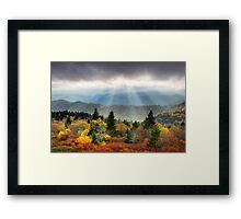 Blue Ridge Parkway Photography - Enlightenment Framed Print