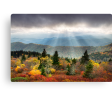 Blue Ridge Parkway Photography - Enlightenment Canvas Print
