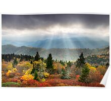 Blue Ridge Parkway Photography - Enlightenment Poster