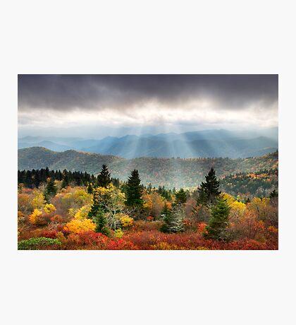 Blue Ridge Parkway Photography - Enlightenment Photographic Print