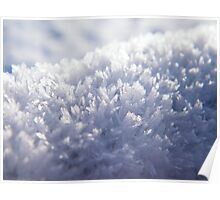 The Ice Crystals Poster