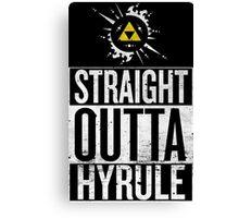 Straight Outta Hyrule V4 Canvas Print
