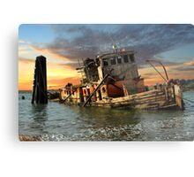 The Sunset Years Of The Mary D. Hume Metal Print